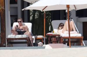 Bastian Schweinsteiger : Avec sa belle Sarah Brandner au soleil et loin du foot