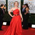 Julie Delpy lors de la cérémonie des Golden Globes à Los Angeles le 12 janvier 2014