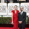 Bérénice Bejo et Asghar Farhadi (Le Passé) lors de la cérémonie des Golden Globes à Los Angeles le 12 janvier 2014