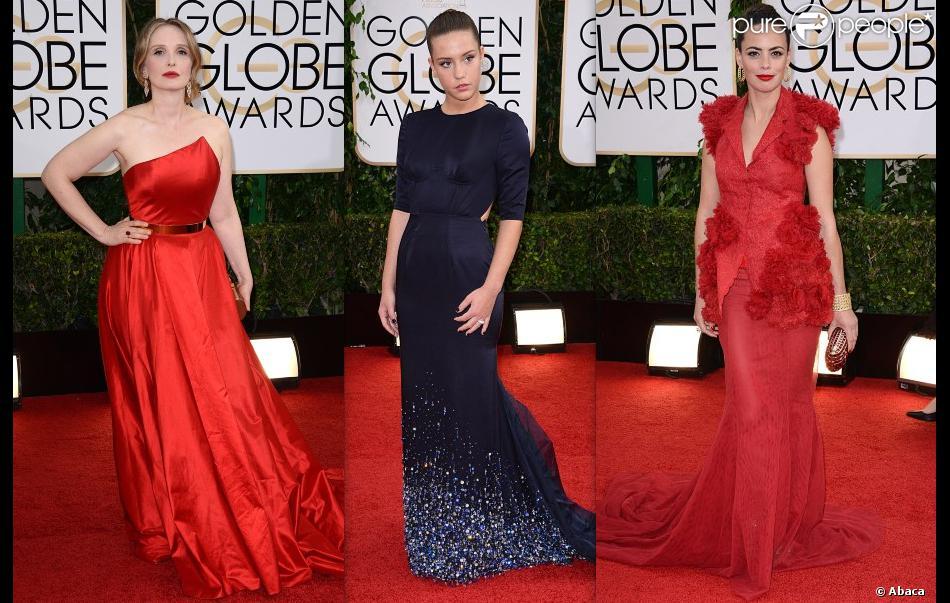 Julie Delpy, Adèle Exarchopoulos et Bérénice Bejo aux Golden Globes 2014