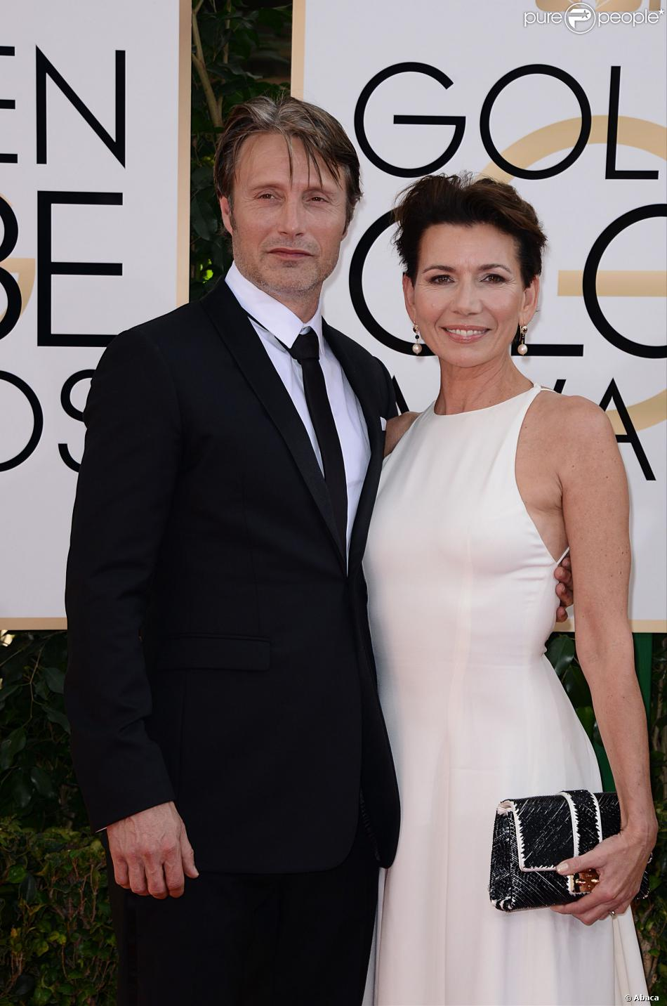 Mads Mikkelsen couple