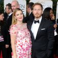 Drew Barrymore et son mari lors des Golden Globe Awards au Beverly Hilton de Beverly Hills, Los Angeles, le 12 janvier 2014.