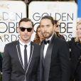 Shannon Leto et son frère Jared Leto lors des Golden Globe Awards au Beverly Hilton de Beverly Hills, Los Angeles, le 12 janvier 2014.