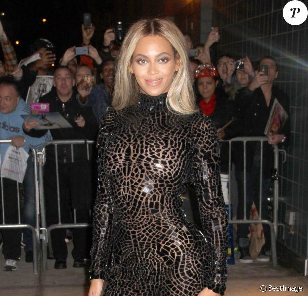 Beyoncé Knowles à New York, le 21 décembre 2013.