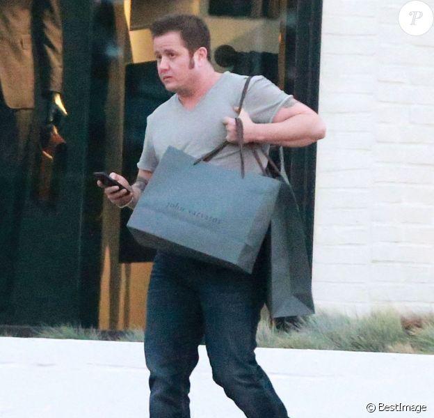 Exclusif - Chaz Bono fait du shopping à West Hollywood, le 14 janvier 2014.