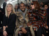 Fashion Week : Kanye West sans Kim, mais en charmante compagnie chez Givenchy