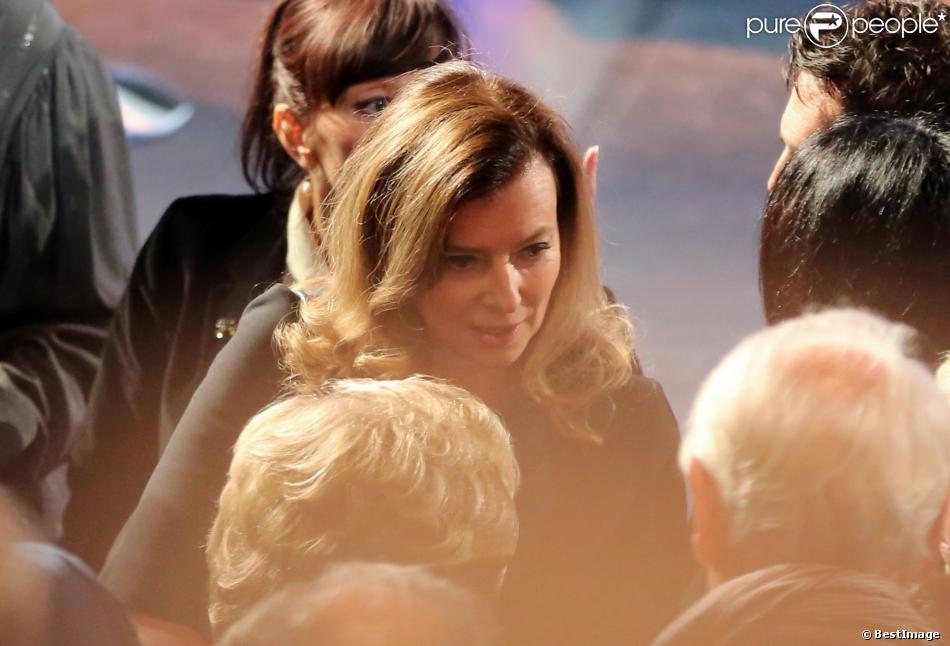 Valerie Trierweiler - Cérémonie de remise du Prix pour la prévention des conflits de la Fondation Chirac au musee du quai Branly. Paris, le 21 Novembre 2013