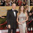 Tom Hanks, Rita Wilson lors de la 20e cérémonie des Screen Actors Guild Awards au Shrine Exposition Center de Los Angeles, le 18 janvier 2014.