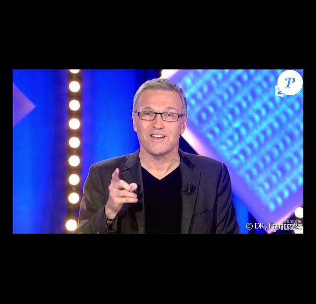 Laurent Ruquier, sur le plateau de L'Emission pour tous, le lundi 20 janvier 2014, pour la première sur France 2.