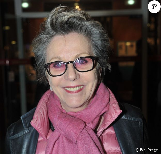 Françoise Laborde - Gala contre le racisme au Théâtre du Rond Point des Champs-Elysées à Paris le 2 décembre 2013.