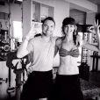 Ronan Keating et sa girlfriend Storm Uechtritz en vacances aux Maldives en janvier 2014.
