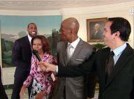 Michelle Obama : Son dunk rageur, Lebron James et les stars du Heat médusés !