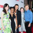 Emmy Rossum, Shanola Hampton, Zach McGowan, Emma Kenney, William H. Macy de la série Shameless à Los Angeles, le 4 juin 2013.