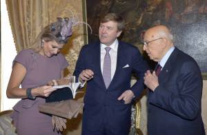 Maxima des Pays-Bas en Italie : Rencontre glamour entre premières dames
