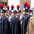 Visite officielle inaugurale, le 23 janvier 2014, du roi Willem-Alexander et de la reine Maxima des Pays-Bas en Italie