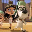 Le trio voyage dans M. Peabody et Sherman : Les Voyages dans le temps