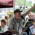 Pete Seeger à New York, le 17 juillet 2012.