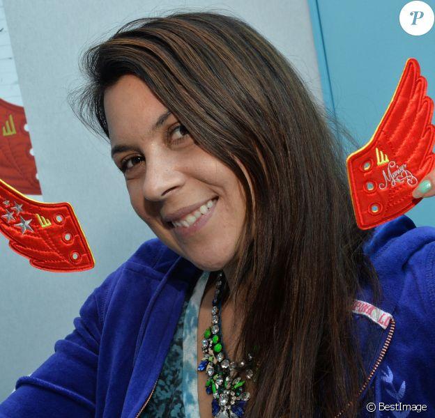 Marion Bartoli lançait le 27 janvier 2014 au salon Who's Next à Paris sa collection de Wingista, petit accessoire de mode pour les chaussures, en compagnie de Kelly Vedovelli