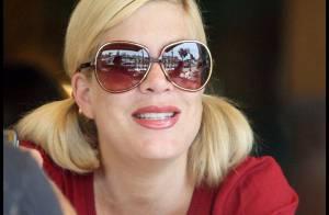 PHOTOS : Tori Spelling, déjeuner et shopping avec son amoureux !