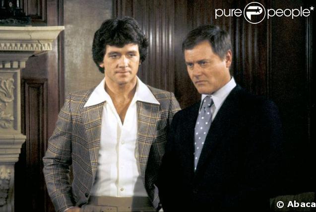 Patrick Duffy et Larry Hagman de Dallas