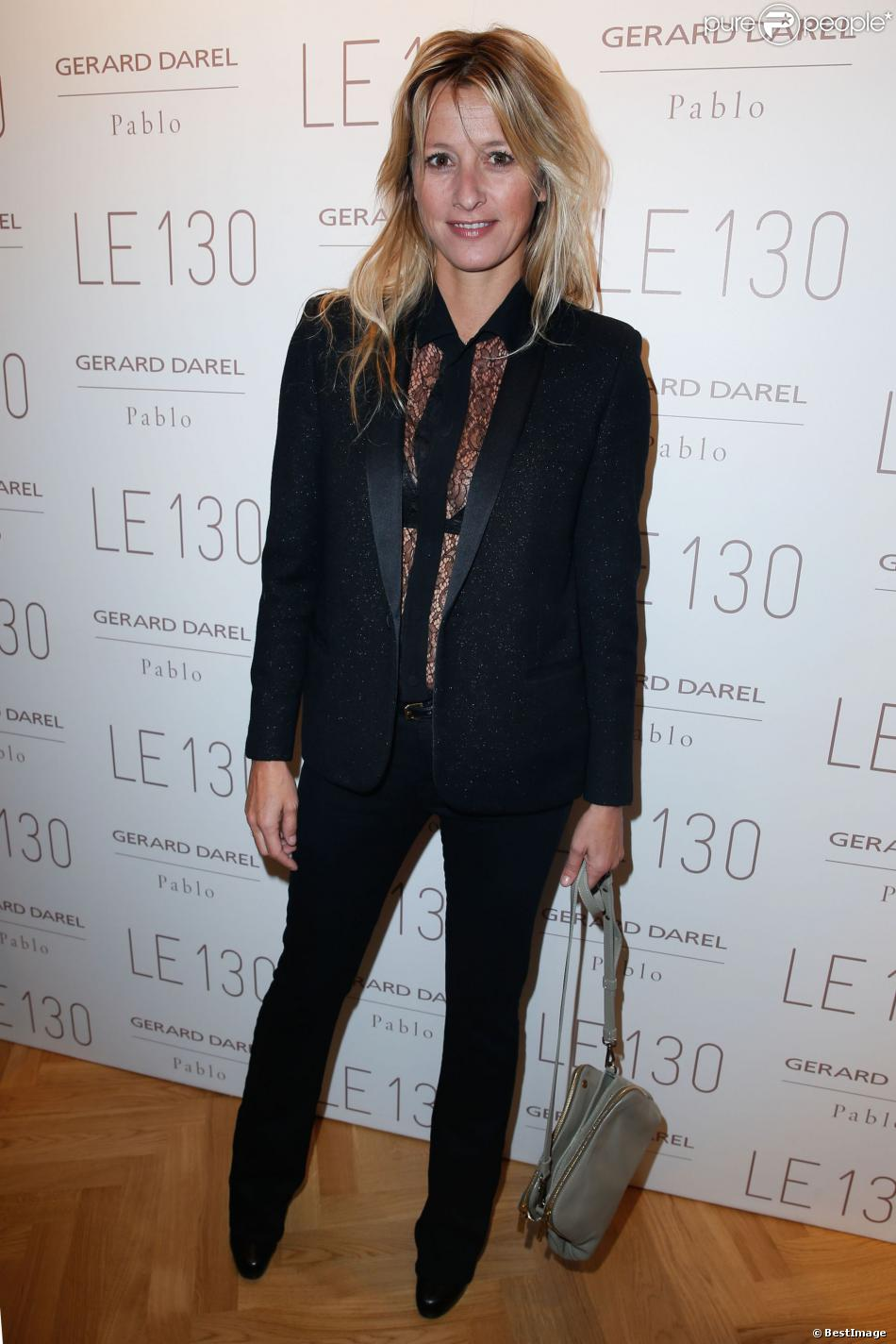 Sarah lavoine lors de l 39 inauguration de la nouvelle boutique gerard darel - Sarah lavoine boutique ...