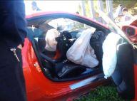 Mbaye Niang, le violent accident : La Ferrari du footballeur endommagée