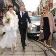 """""""Mariage de Chloe Delevingne et d'Ed Grant à Londres le 7 février 2014."""""""