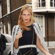 """""""Poppy Delevingne lors du Mariage de Chloe Delevingne et d'Ed Grant à Londres le 7 février 2014."""""""
