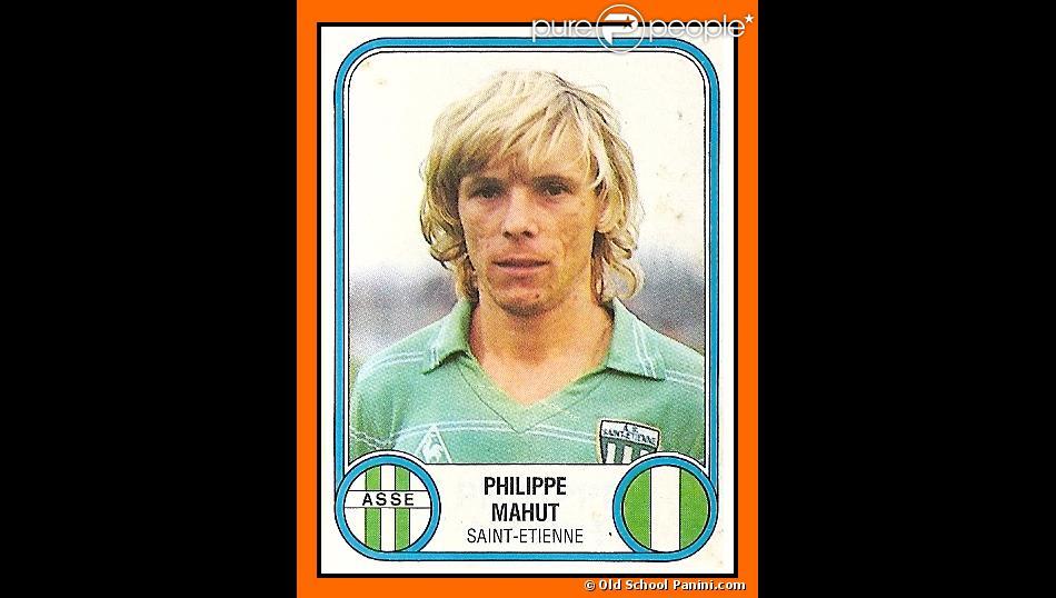 Philipe Mahut sous le maillot de l'AS Saint-Etienne en 1983