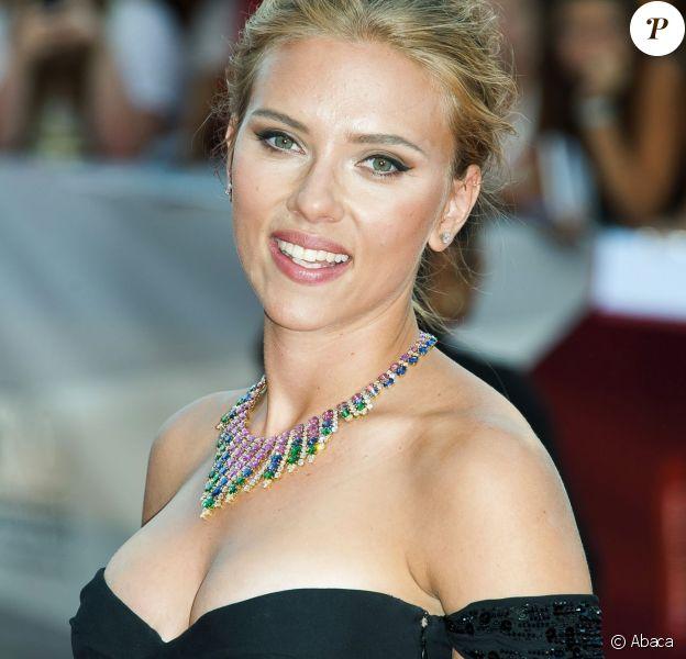 Scarlett Johansson, une bombe bientôt honorée aux César. Ici à Venise, le 3 septembre 2013.