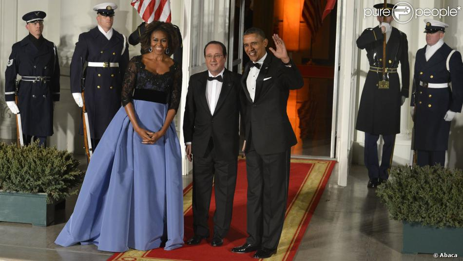 Barack obama et michelle obama prennent la pose avec for Au coeur de la maison blanche barack obama