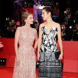 """Mélanie Laurent et Jennifer Connelly - Première du film """"Aloft"""" lors du 64e Festival International du Film de Berlin, le 12 février 2014."""