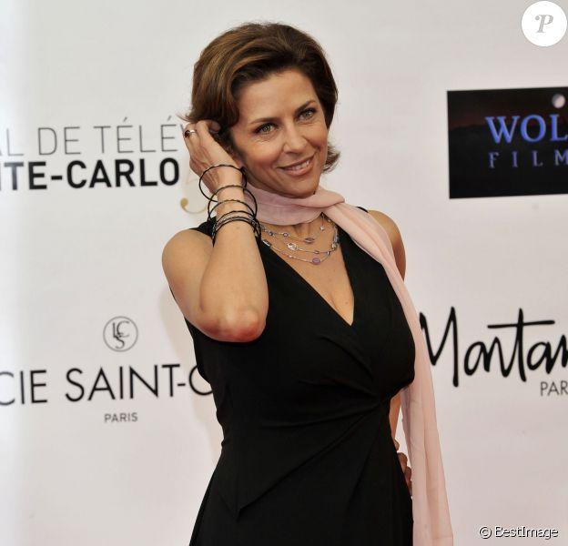 Corinne Touzet - 52e festival du film de Monte-Carlo à Monaco, le 10 juin 2012.