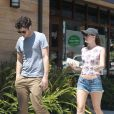 Leighton Meester et Adam Brody à Los Angeles, le 22 juin 2013.