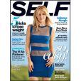 """Julianne Hough en couverture du magazine """"Self"""", daté du mois de mars 2014."""
