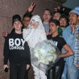 Lady Gaga à New York, le 20 février 2014.