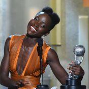 Lupita Nyong'o : Décolleté sexy et nouveau prix pour la coqueluche d'Hollywood