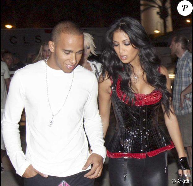 Lewis Hamilton et Nicole Scherzinger sont de sortie, attention les yeux !