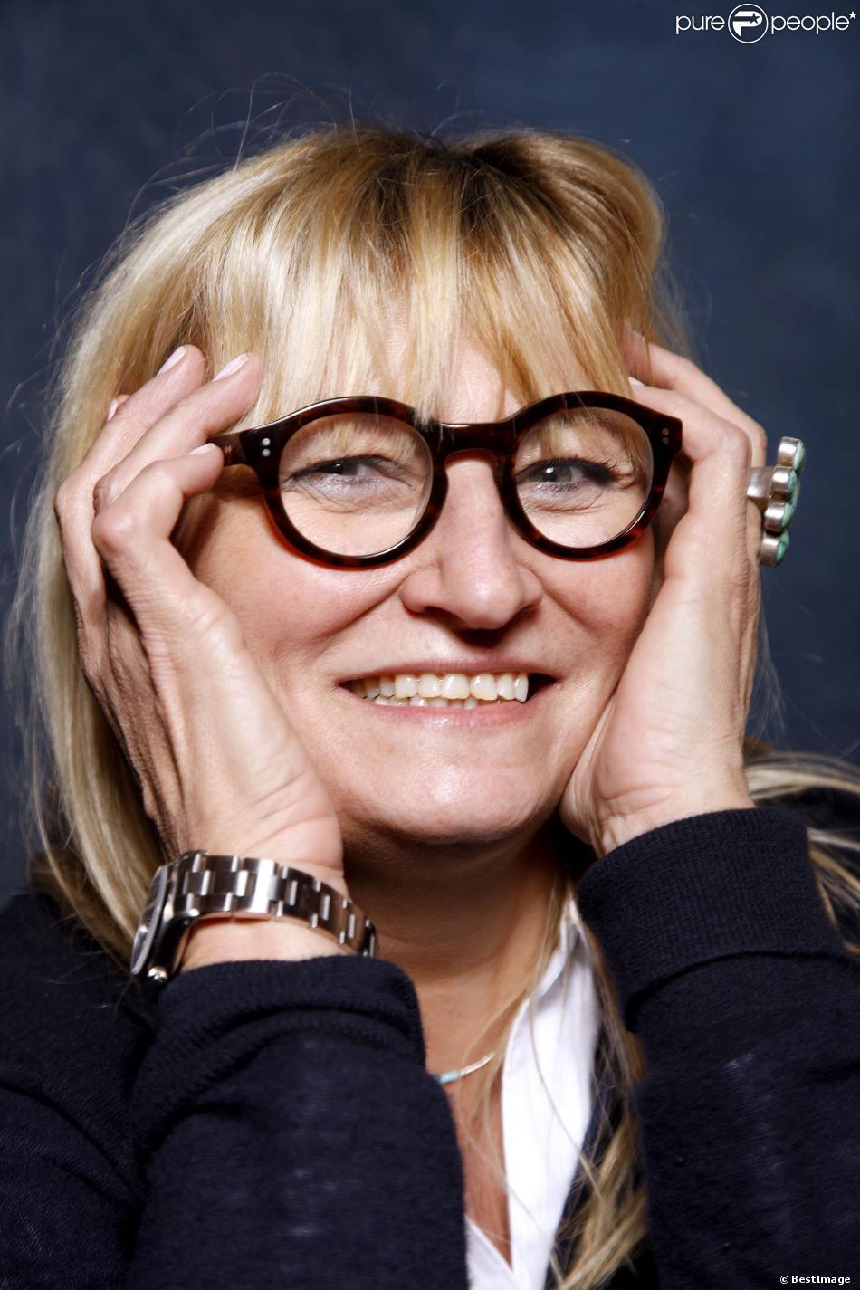 Portrait de Christine Bravo réalisé en 2012.