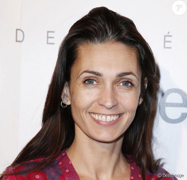 Exclusif - Adeline Blondieau - Vente aux enchères des Frimousses des Créateurs au profit de l'Unicef pour les enfants du Darfour à l'hôtel George V a Paris, le 2 décembre 2013.