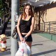 Exclusif - Chloe Lattanzi la fille d'Olivia Newton-John dans les rues de Santa Monica, le 3 juillet 2011.