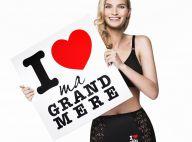 Sarah Marshall : Sexy, elle présente une culotte en hommage aux grands-mères