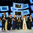 La cérémonie des César le 28 février 2014, avec le sacre du film Les Garçons et Guillaume à table !, de et avec Guillaume Gallienne
