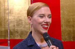 Scarlett Johansson : Amoureuse de son Romain, la star rayonne aux César 2014
