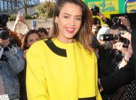 Fashion Week : Jessica Alba, un rayon de soleil à Paris pour le défilé Kenzo