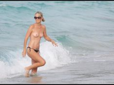 PHOTOS : Laeticia Hallyday, bronzage intégral à Saint-Barth !