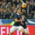 Karim Benzemalors du match amical France contre Pays-Bas au Stade de France à Saint-Denis le 5 mars 2014.