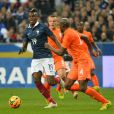 France's Paul Pogba during a International Friendly soccer match, France Vs Netherlands at Stade de France in Saint-Denis suburb of Paris, France on March 5, 2014. France won 2-0. Photo by Christian Liewig/BACAPRESS.COM06/03/2014 - Saint-Denis