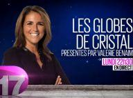 Globes de Cristal 2014 : Valérie Bénaïm fin prête pour la cérémonie