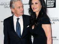 Michael Douglas et Catherine Zeta-Jones, amoureux : La séparation s'éloigne